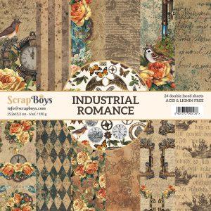 INRO-09 papiery Industrial Romance Scrap Boys