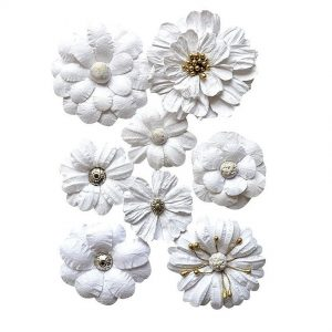 2037-301 papierowe kwiaty Vaessen Creative
