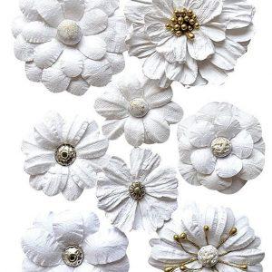 2037-301 kwiaty papierowe