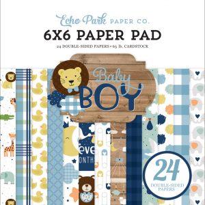 BAB203023 zestaw papierów Baby Boy Echo Park
