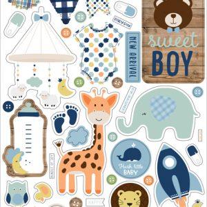 BAB202021 naklejki Baby Boy Echo Park