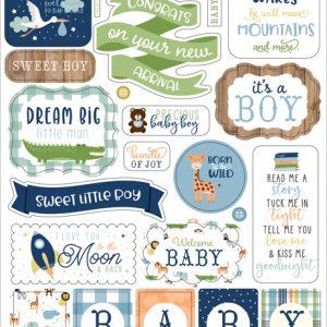 BAB202022 naklejki Baby Boy Echo Park