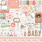 BAG202014 naklejki Baby Girl Echo Park
