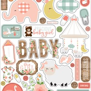 BAG202066 naklejki Baby Girl Echo Park