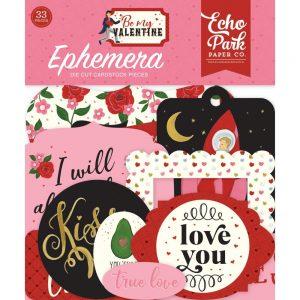 BMV197024.2 elementy papierowe Be my Valentine Echo Park