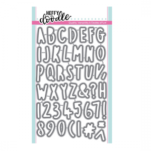 HFD0188 wykrojnik Heffy Doodle
