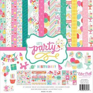 LP170016 zestaw papierów Let's Party Echo Park
