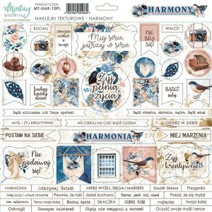 MT-HAR-10PL Harmony Mintay Papers chipboards