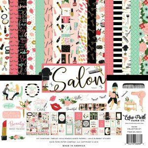 SAL196016 zestaw papierów Salon Echo Park