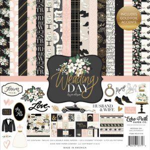 WD181016 zestaw papierów Wedding Day Echo Park