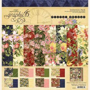 4501698 zestaw papierów Floral Shoppe