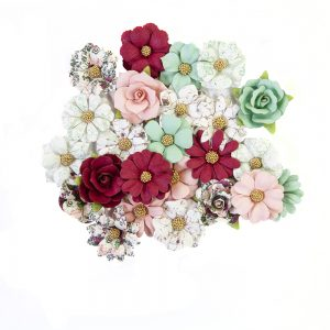 646899 zestaw papierowych kwiatów Prima Marketing z kolekcji Pretty Mosaic