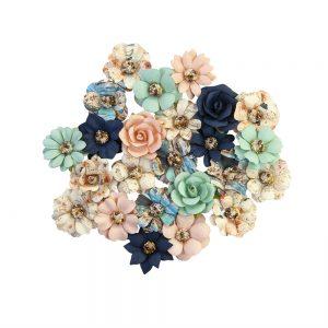 647070 zestaw papierowych kwiatów Prima Marketing z kolekcji Capri