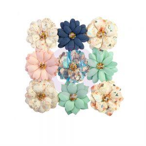 647100 zestaw papierowych kwiatów Prima Marketing z kolekcji Capri
