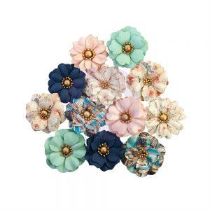 647124 zestaw papierowych kwiatów Prima Marketing z kolekcji Capri