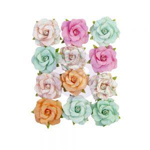 647186 zestaw papierowych kwiatów Prima Marketing z kolekcji Surfboard