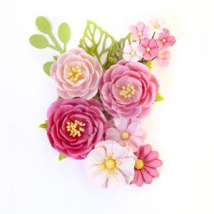 647209 zestaw papierowych kwiatów Prima Marketing z kolekcji Surfboard