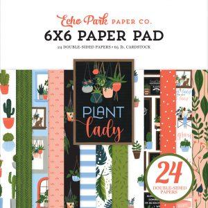 PLA211023 zestaw papierów Plant Lady Echo Park