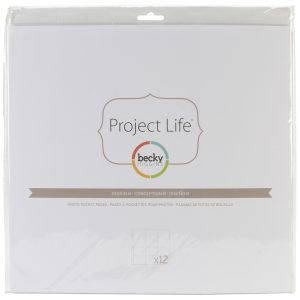 380004 koszulki do project life Becky Higgins