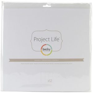 380007 koszulki do project life Becky Higgins