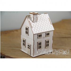 5534 tekturka 3D w kształcie domku Scrapiniec