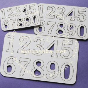 86AC-4770E_2013011918 tekturka w kształcie cyfr Wycinanka2159