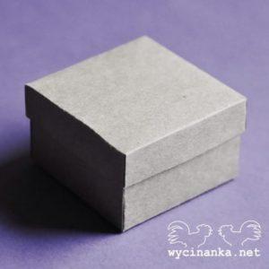 A9AE-61337 baza do złożenia w kształcie pudełka Wycinanka