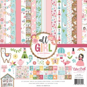 ALG206016 zestaw papierów All Girl Echo Park