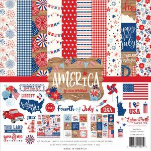 AM213016 zestaw papierów America Echo Park