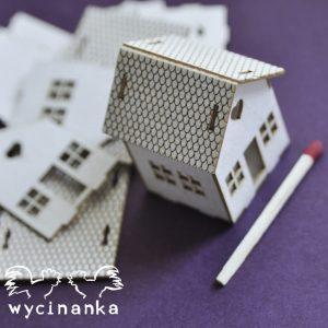 D84B-26902 dom tekturka Wycinanka