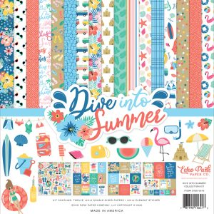 DIS210016 zestaw papierów Dive Into Summer Echo Park