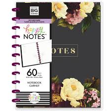 PLNOB-22 Big Bright Florals Happy Notes