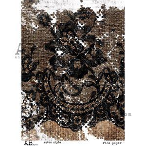 RICE_PAPE_RETRO_STYLE papier ryżowy AB Studio