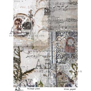 RICE_PAPE_VINTAGE_PIECE papier ryżowy AB Studio