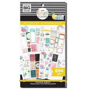 SP1H30-013 naklejki MAMBI Value Pack Stickers - Best Year Ever