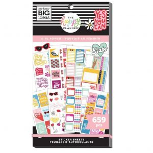 SP1H30-016 naklejki MAMBI Value Pack Stickers – Girl Power