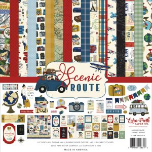 SR212016 zestaw papierów Scenic Route Echo Park