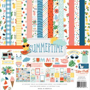 SUM209016 zestaw papierów Dive Into Summer Echo Park