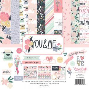 YM168016 zestaw papierów I You&Me Echo Park
