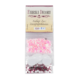 FDP-41 cekiny, kryształki Fabrika Decoru