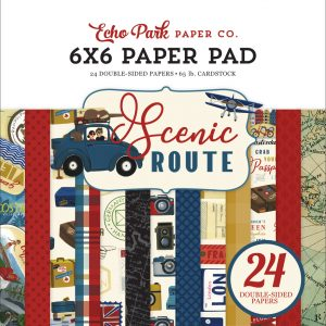 "SR212023 zestaw papierów ""Scenic Route"" echo Park"