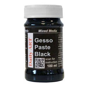 DA17200120 czarne gesso Daily Art