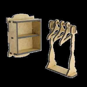 FDSBK-053 element ozdobny w kształcie mebli Fabrika Decoru