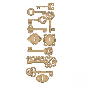 FDSBK-143 element ozdobny w kształcie kluczy Fabrika Decoru