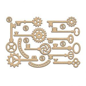 FDSBK-193 element ozdobny w kształcie kluczy Fabrika Decoru