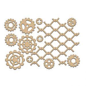 FDSBK-198 element ozdobny w kształcie siatki i trybów Fabrika Decoru