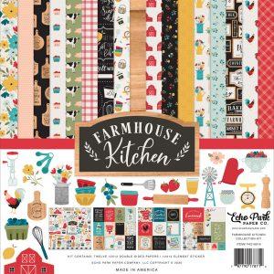 FK216016 zestaw papierów Echo Park, Farmhouse Kitchen