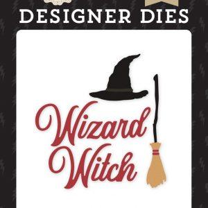 WAW217040 wykrojnik Witches & Wizzards Echo park