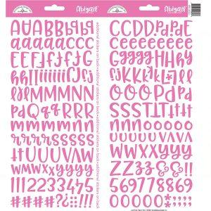 5808 naklejki Doodlebug Design