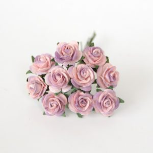 CMR2-4-339 papierowe kwiaty Scrap Flowers